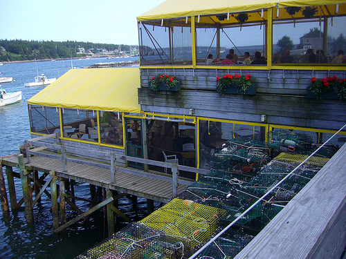 Thurstons Lobster Pound. Bernard, Maine