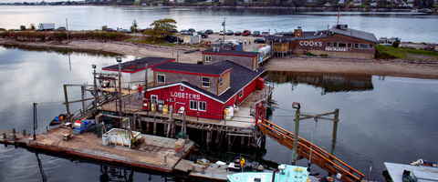 Cooks Lobster House. Bailey Island, Maine