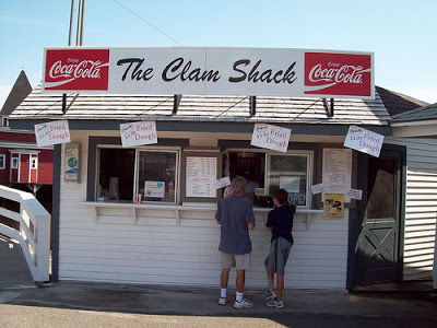 The Clam Shack. Kennebunkport, Maine