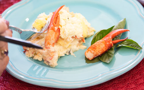 Lobster Lasagna recipe