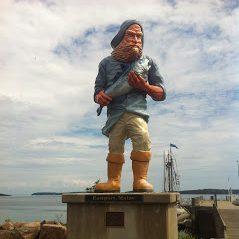 Lubec Maine Statue