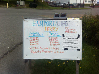 Eastport Lubec Ferry Schedule
