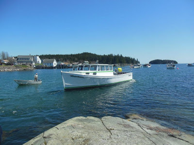 Downeast Maine lobster boat
