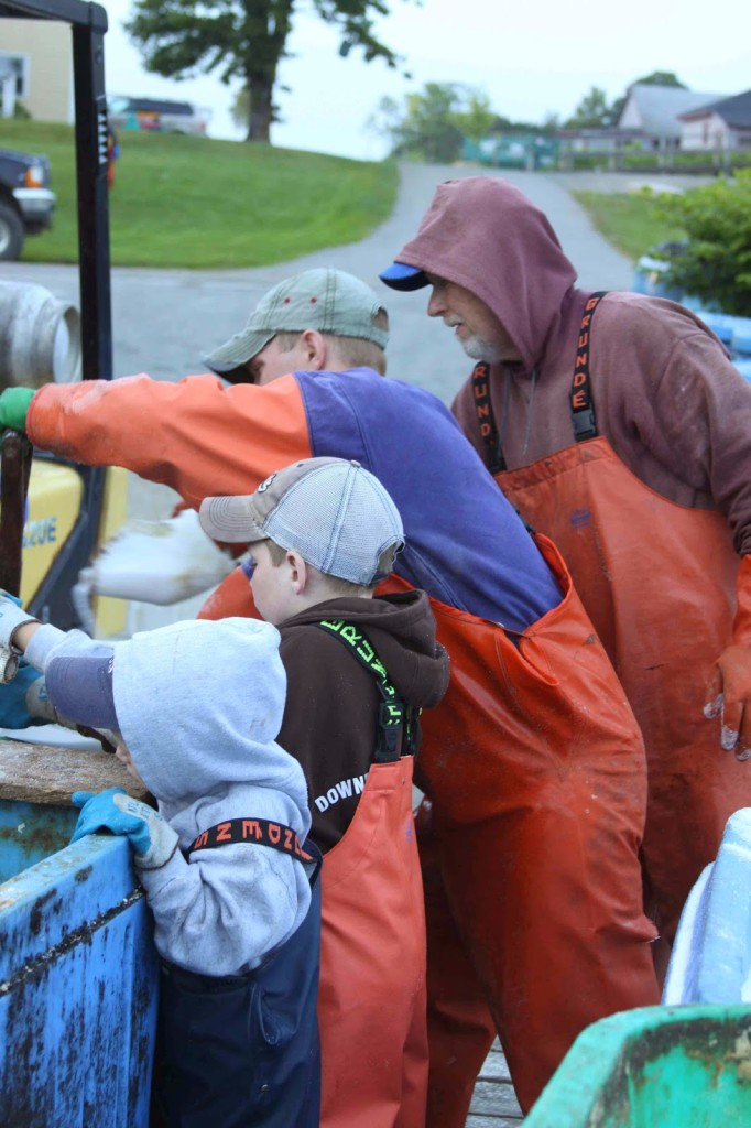 Generations of Lobster Fishermen
