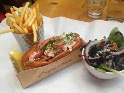 Burger and Lobster Farringdon Review