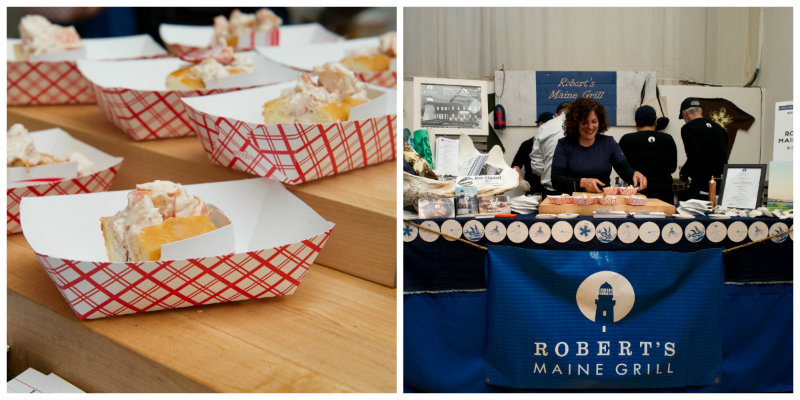 Robert's Maine Grill – Voted Best Lobster Roll (Editor's Choice) at the 2014 Lobster Roll Rumble