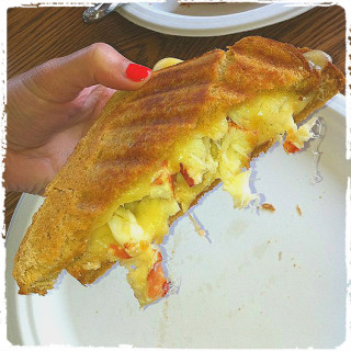 Lobster Grilled Cheese Sandwich Recipe