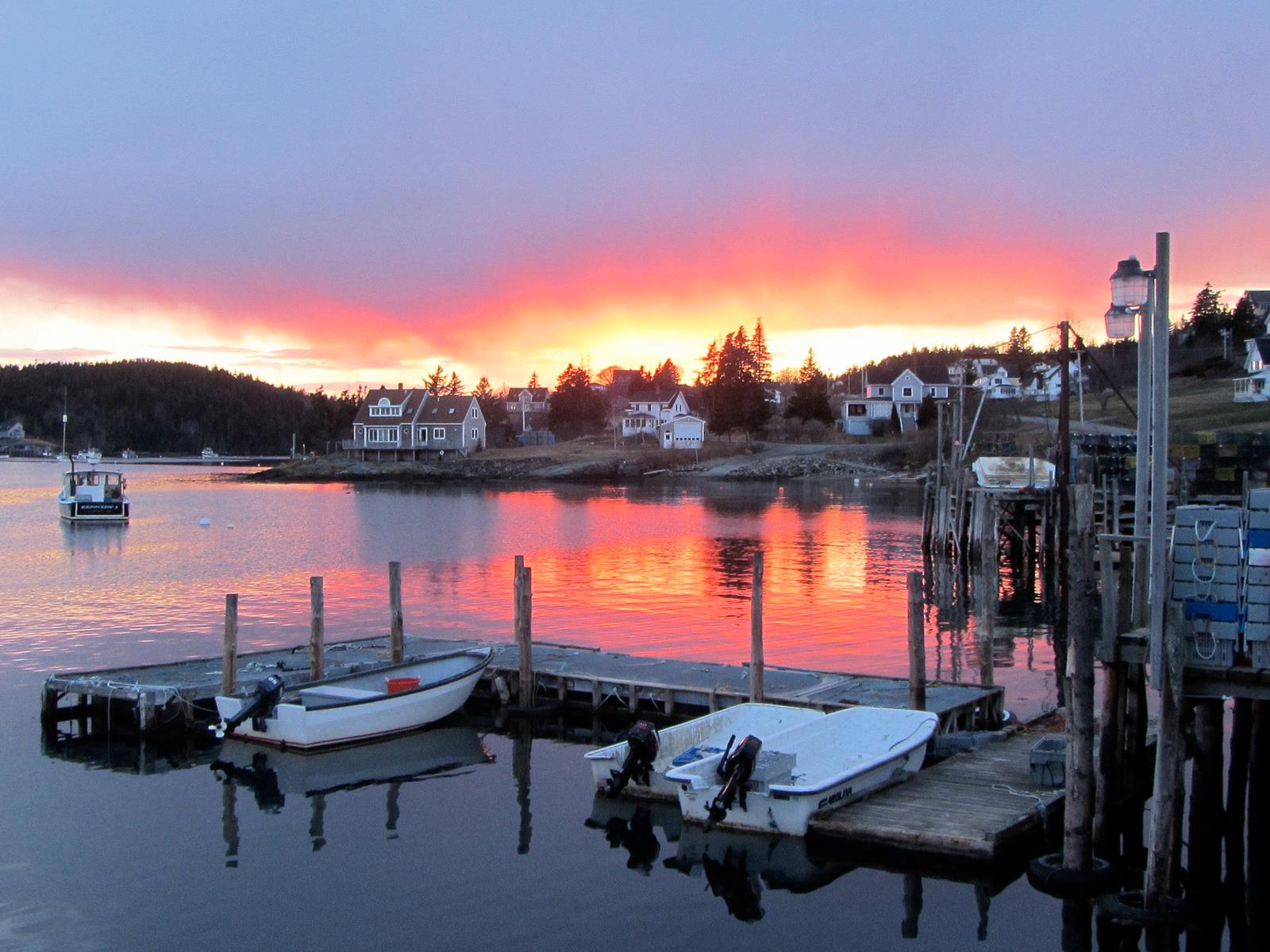 Cutler Maine harbor