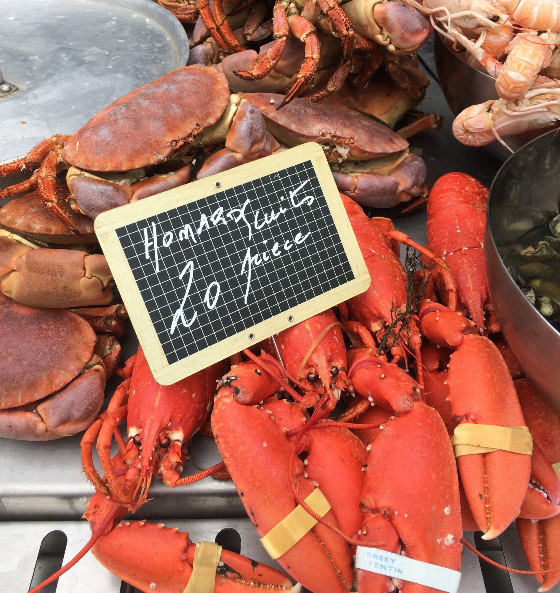 Honfleur France Saturday market