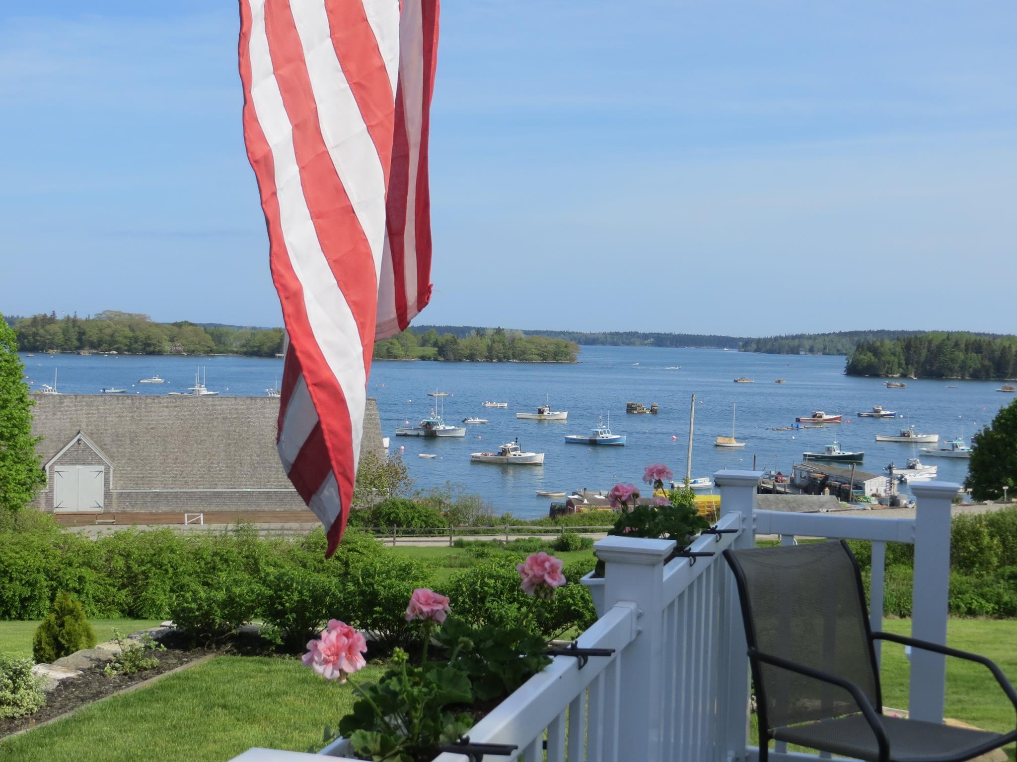 Friendship Maine harbor