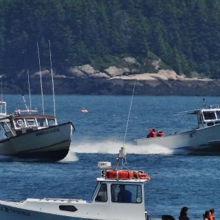 Maine Lobster Boat Races 2017