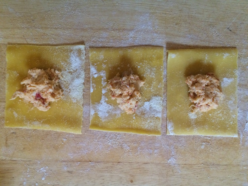 Lobster, pumpkin and ricotta ravioli recipe | Maine-ly Lobster