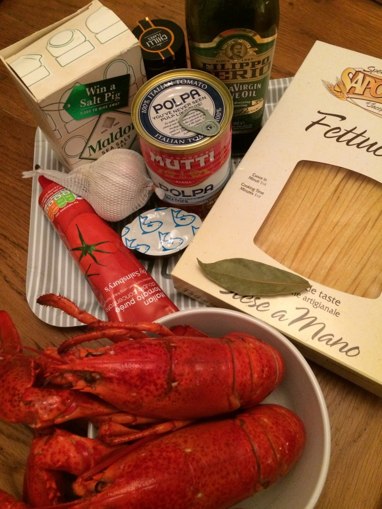 Lobster Fra Diavolo Ingredients