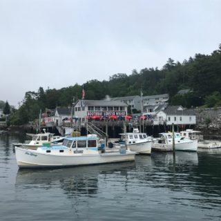 Boothbay Harbor Maine Lobster Fishing Village