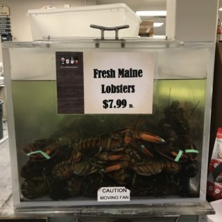 THE PRICE OF LOBSTER IN MAINE AUGUST 2018