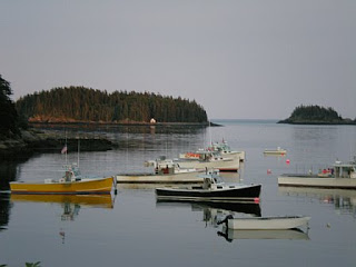 lobster fishing boats cutler harbor