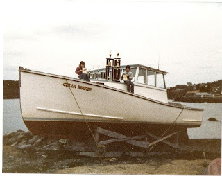 Maine lobster boat racing trophies