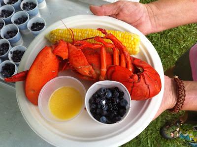 Winter Harbor Lobster Festival lobster dinner