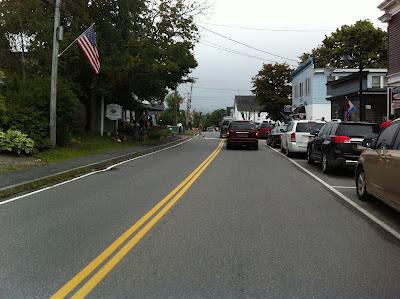 Main Street Winter Harbor Maine