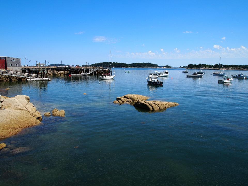 Stonington Maine harbor