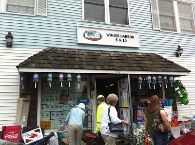 Winter Harbor Maine 5 and 10 store