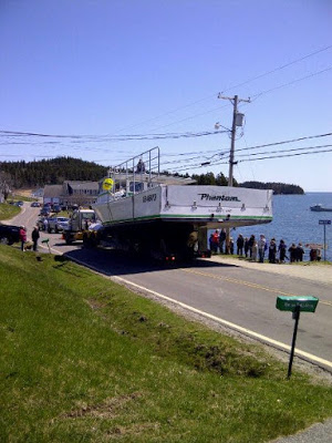 Cutler Lobster Boat Launching