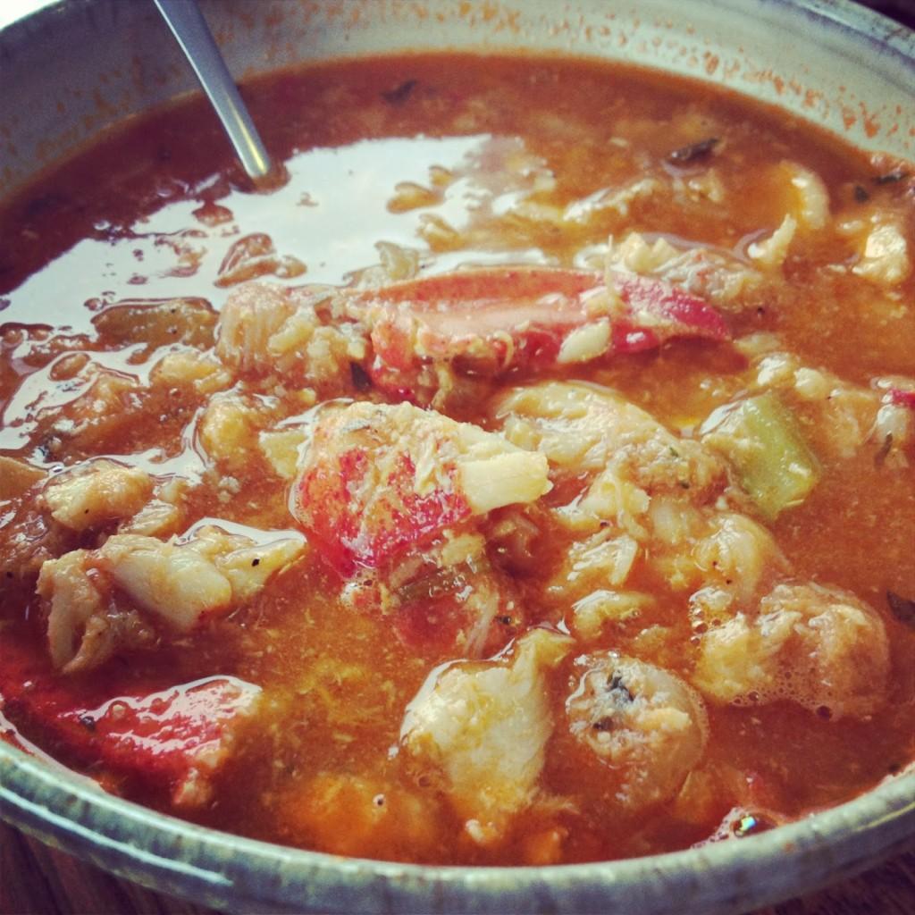 Maine lobster bouillabaisse