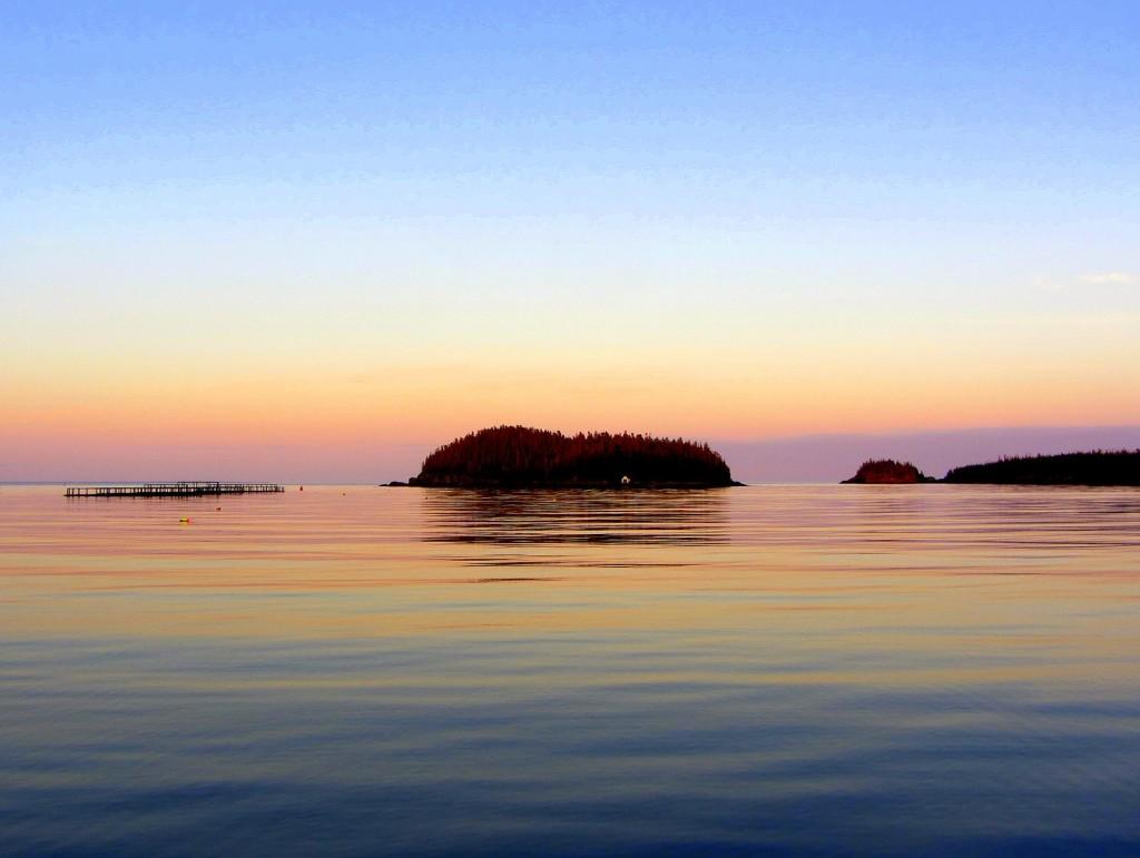 Sunrise Little River Lighthouse
