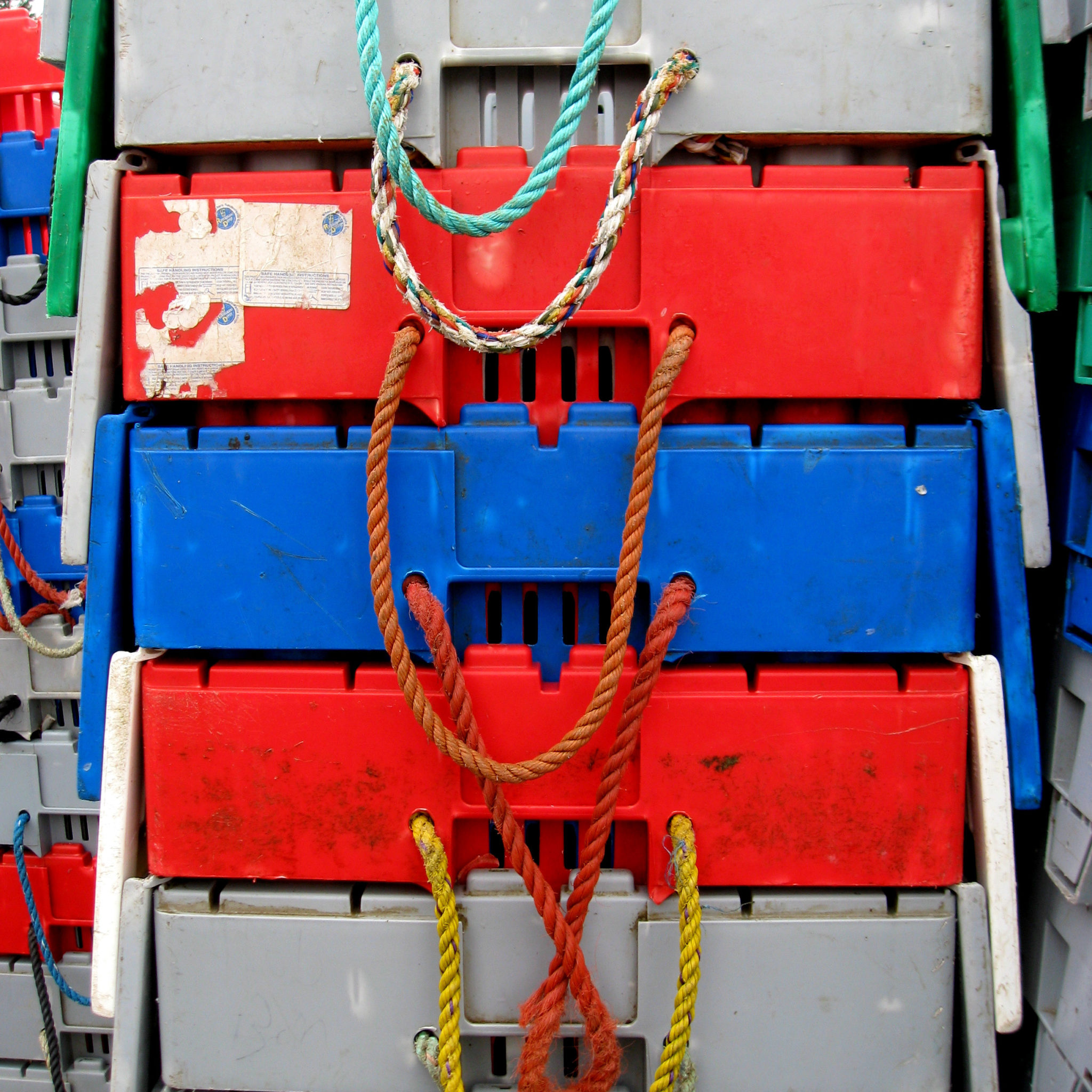 lobster crates Maine
