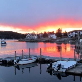 Cutler Maine fishing village