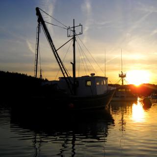 Downeast Maine sunset