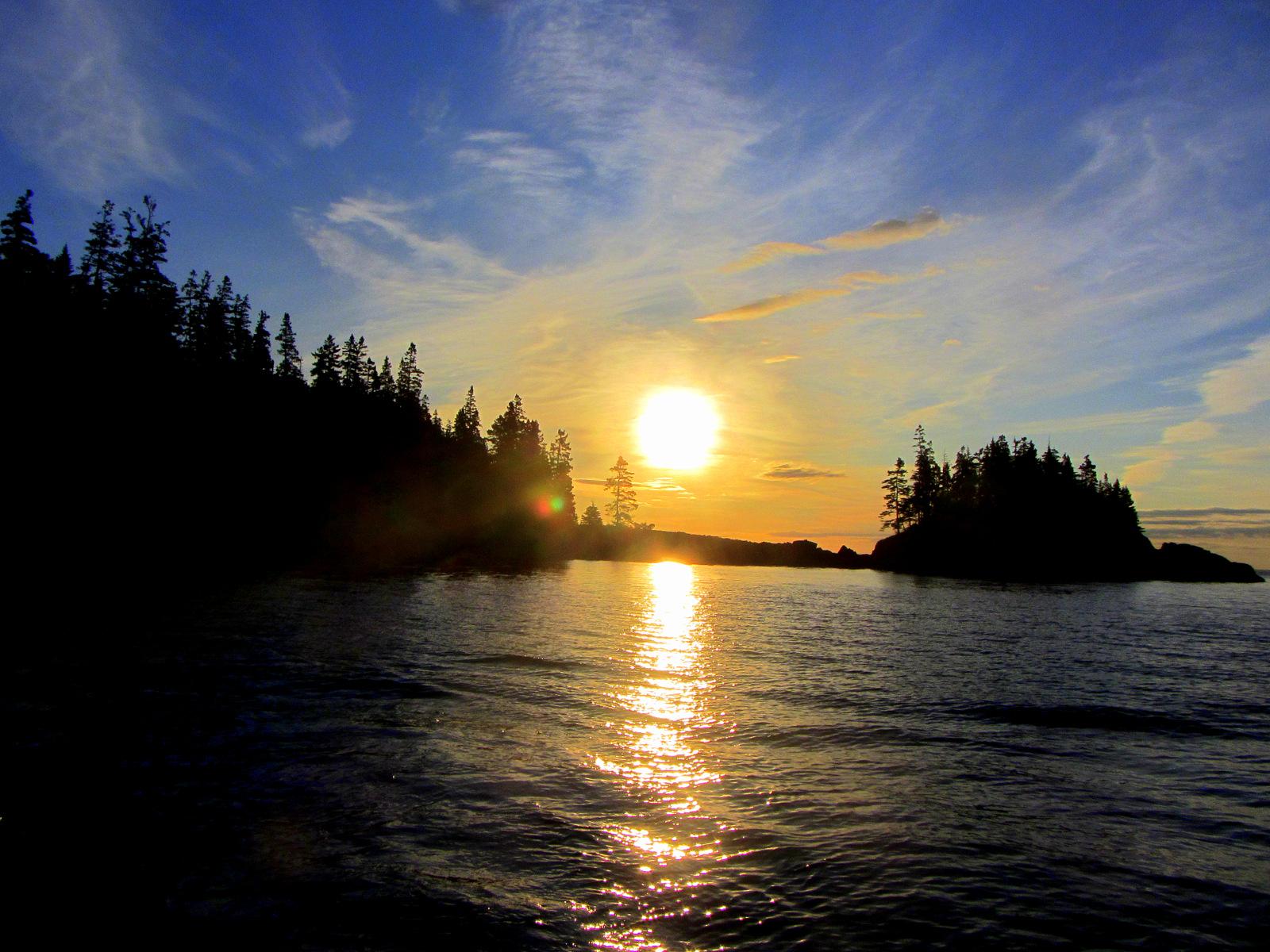 Cutler maine sunrise