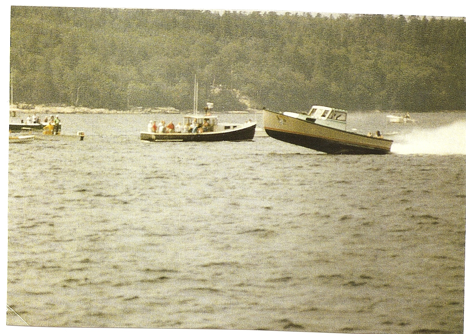 history of maine lobster boat racing