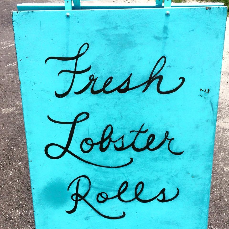 Fresh Maine Lobster Rolls.  Photo courtesy of Kelley Martin.