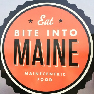 Bite Into Maine Sign
