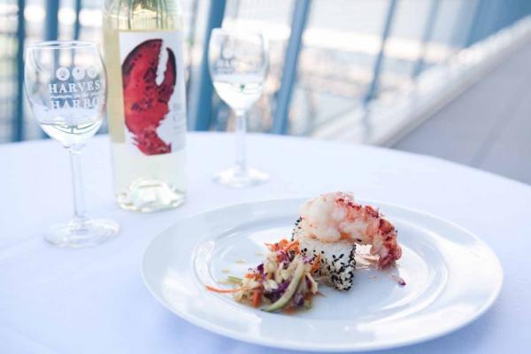 lobster dish harvest on the harbor