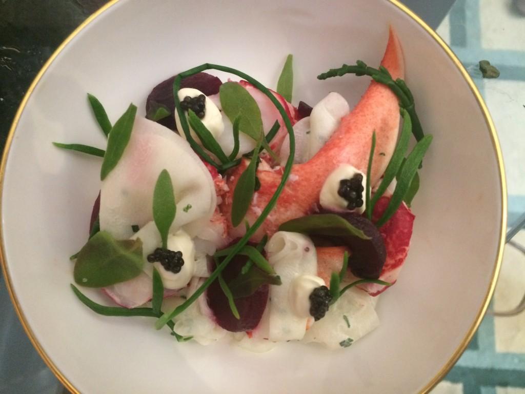 Claridges Lobster Dish