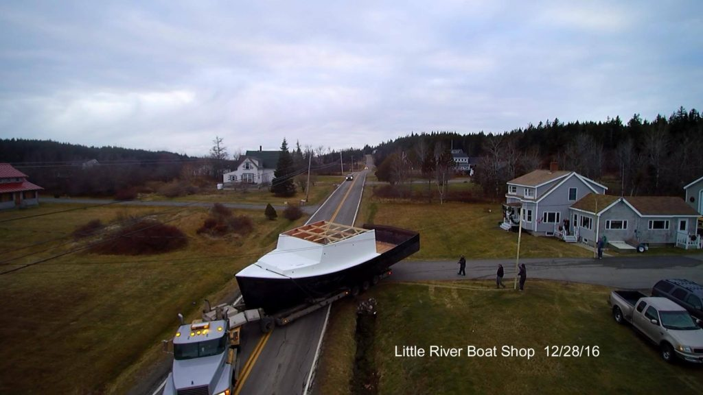 maine lobster boat building