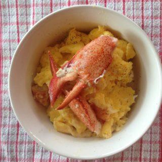 lobster scrambled eggs recipe